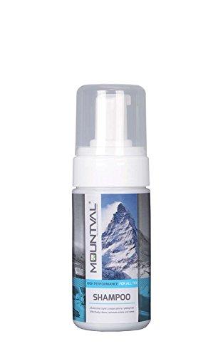 Mountval Shampoo, Schiuma pulente per abbigliamento e protezioni da scalata, Pulisce gli Accessori Idrorepellenti 100ml
