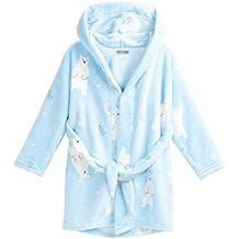 7c7c7dda3a3df Matt Viggo-Pyjama Robe de Chambre Peignoirs Enfant Vêtement Hiver Fille et  Garçon Unisexe Souple