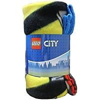 Preisvergleich für Lego Stadt Fleecedecke - Wickeln Sie warm mit Ihren Lieblingscharakteren auf!