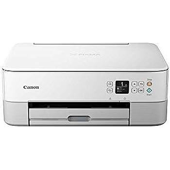 Impresora Multifuncional Canon PIXMA TS5351 Blanca Wifi de inyección de tinta
