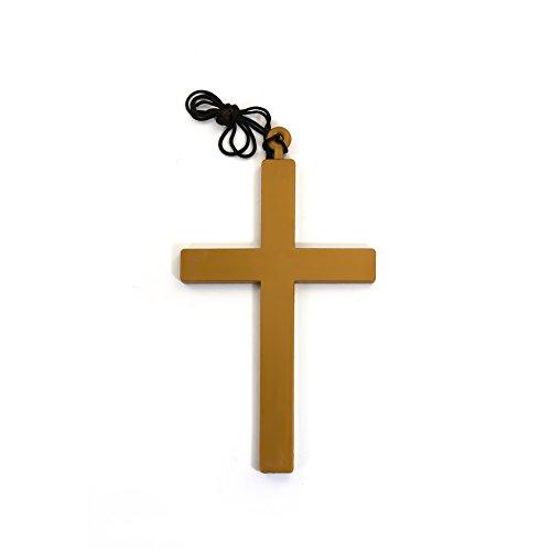 Oblique-Unique® Kreuz mit Kordel - Priester Bischof Nonne Köstüm - Karneval (Nonne Und Priester Kostüme)
