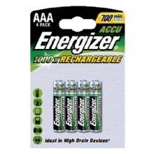Energizer HR03 AAA-Batterien, 700mAh, wieder aufladbar, 4er-Pack Batterie 4er-pack Energizer