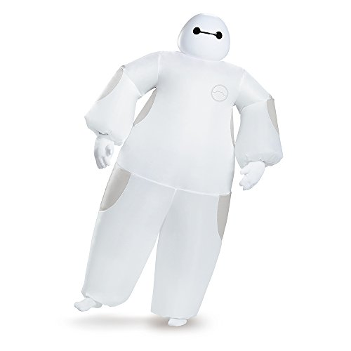 Big Hero 6 Weiß Baymax Inflatable Erwachsener Kostüm (Big Hero 6 Baymax Kostüm)