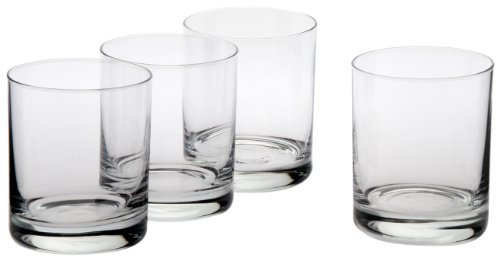 Ravenscroft Crystal 10-1/2-Ounce Classic Double Old-Fashioned Glass, Set of 4 by Ravenscroft Crystal (Fashioned Double Old Classic)