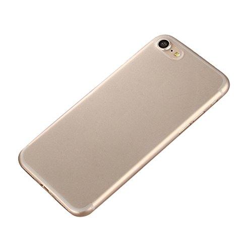 iPhone 7 Custodia, SW Ultra Sottile Caramelle di Colore Plastica Case Cover Giallo grigio