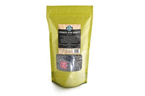 Kultaroma - Schwarzer Tee Assam Harmutty SFTGFOP1, 60 Pyramidenbeutel mit Blatt-Tee, Teebeutel Maxipack