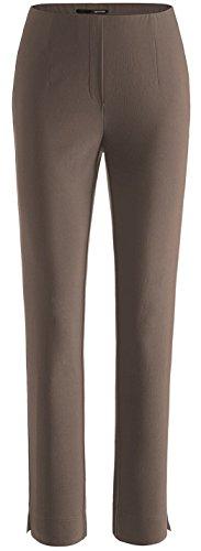 Stehmann LOLI-742 Bequeme, stretchige Damenhose, mit etwas schmalem Bein (38, Espresso) - Espresso-geräte