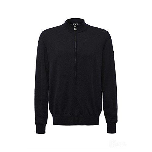 Emporio Armani Herren Sweatshirt Gr. S, Schwarz (Armani Pullover Wolle)