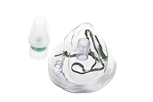 Micro Mist hu41893klein Volumen Vernebler, Latex frei, für Erwachsene, 210cm Tubing, transparent (50Stück) (Kleines Vernebler Volumen)