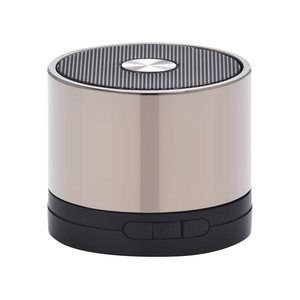 Muvit MINI Speaker Bluetooth MINISPEAKER2GR Enceintes PC / Stations MP3 RMS 3 W Argent