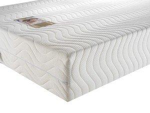 Materasso memory foam 25,4cm Concept Deluxe 3000, White, Super King