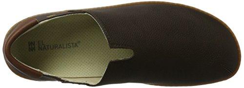 Die Naturalista N275, Slip-on Schuhe Unisex Schwarz (Pull Grain Black)
