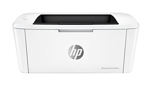 HP LaserJet Pro M15W Stampante Wireless Monocroma (solo Bianco/Nero), fino a 19 ppm (Nero), Colore: Bianco
