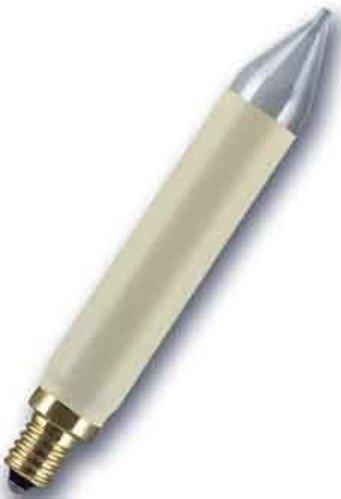 Osram - Bombillas tipo vela (2 unidades, 3 W, 15 V, E10)