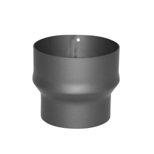 Kamino–Flam – Acero Adaptador de reducción para tubo de chimenea, Tubo reducción...