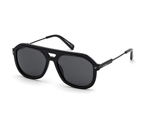 Dsquared2 occhiali da sole mod. dq 0307/s bryce col. 01a - nero lucido/fumo