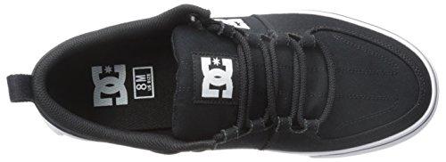 DC Lynx Vulc TX Skate Shoe, Black/Black/Black, 10.5 M US Black