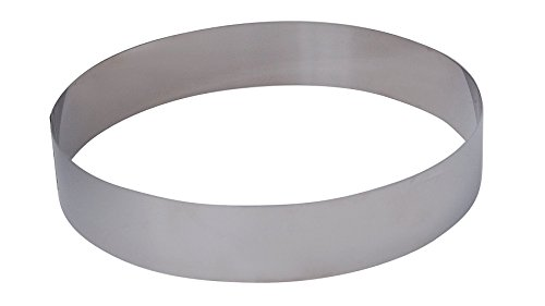 De Buyer - 3989.20 - Cercle Rond 20cm x 4,5cm - Inox
