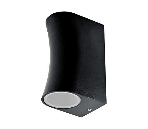 Außenbeleuchtung BOSTON 2xGU10/35W/230V schwarz -
