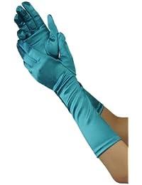 Efashionsquare Damen Elegante Unter Elbogen Handschuhe 701148BL