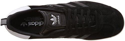 adidas Originals Gazelle S76228, Scarpe da Ginnastica Basse Uomo Nero (Cblack/Cblack/Goldmt)