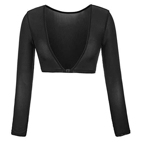 Rosennie Nahtlose Arm Shaper Short Cardigan Body Shaper für Arm Plus Size Seamless Arm Shaper Crop...