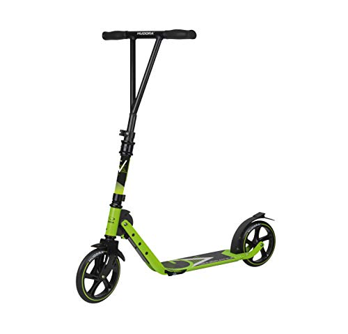 HUDORA Kinder & Jugendliche BigWheel Generation V 205 Scooter Roller Big Wheel, limegrün