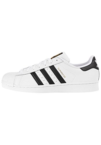 adidas Superstar C77124, Herren Sneaker EU 42 23
