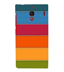 PrintVisa Designer Back Case Cover for Xiaomi Redmi 1S :: Xiaomi Hongmi 1S (Seamless Pattern :: Beautiful colour Design wallpaper :: Colour band Design :: Horizontal Pattern design :: Colorful design)
