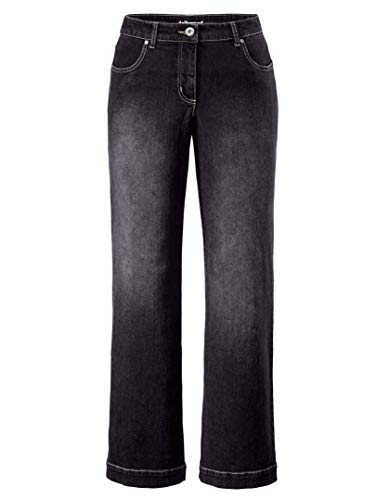 Dollywood Damen Flare Cut Jeans Nora 50 -
