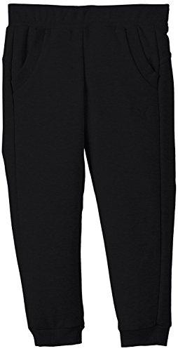 Puma Kinder Hose Fun TD Sweat Pants Closed Fleece G, Black, 164