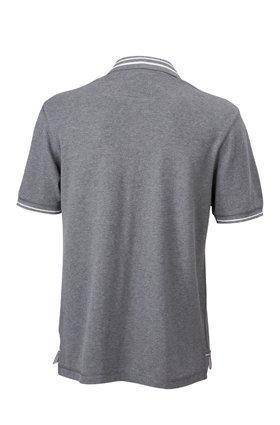 Men's Lifestyle Polo grey-melange/off-white