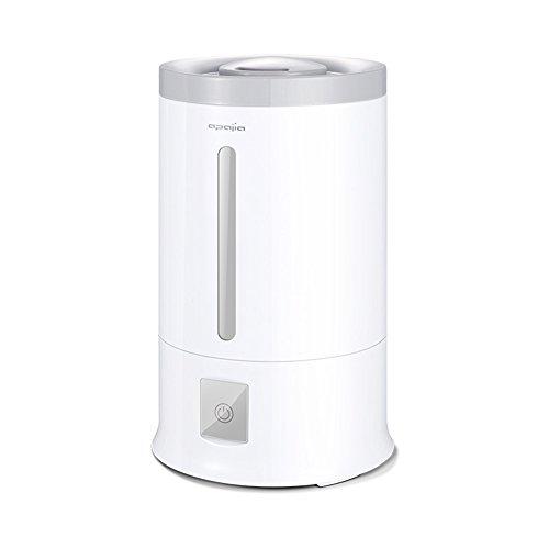 YIXIN Luftbefeuchter / Luftreiniger Aromatherapie Maschine PP Keramik Zerstäubt Blatt Ultraschall Zerstäubung Automatische Abschaltung ohne Wasser Gesundheit und Energie sparen 2.4L Weiß