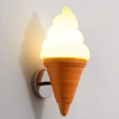 QiXian Nachtlicht Wandleuchte Led Lampe Kreative EIS EIS Wandleuchte Cafe Restaurant Bar Dessert Shop Kinderzimmer Dekoration Licht für Küche Schlafzimmer Wohnzimmer