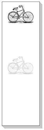 Ars Antigua Slim-Schreibblöcke (Notizblock) Antikes Bocycle-Gravur, 1890, 2 Blöcke mit je 50 Blatt, insgesamt 100 Blatt -