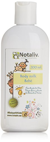 Notaliv Cosmética Natural Body milk almendras dulces bebe - 200 ml