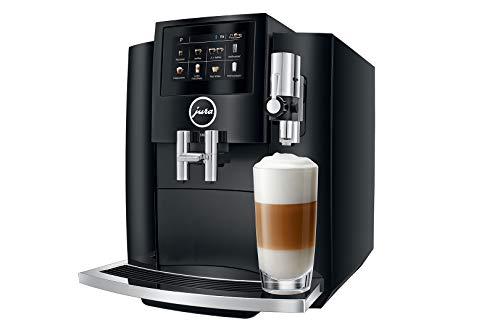 JURA S80 Piano Black Independiente Máquina espresso Negro 1,9 L 16 tazas Totalmente automática - Cafetera (Independiente, Máquina espresso, 1,9 L, Molinillo integrado, 1450 W, Negro)