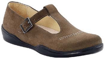 Footprints - Boots Casablanca de Cuir en Taupe Taupe