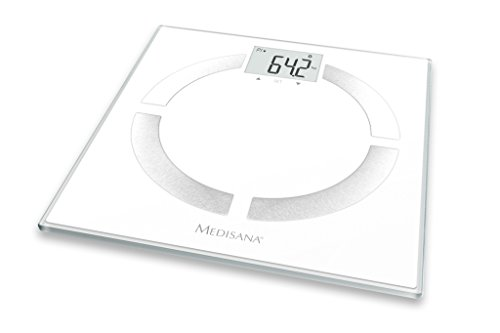 Medisana BS 444 connect Körperanalysewaage zur Messung aller Körperdaten bis 180 kg+ Datenübertragung via Bluetooth an die VitaDock+ App
