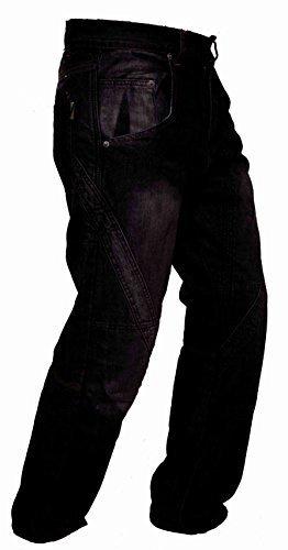 #Newfacelook Herren Motorrad Hose Motorradhose Jeans Verstärkt Motorradfahrer Durch Aramid Schutz Futter#