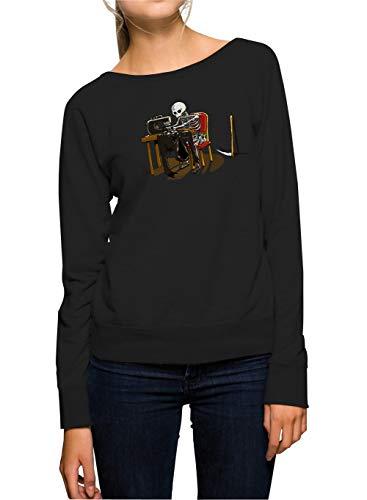 Certified Freak Grim Taylor Sweater Girls Black L