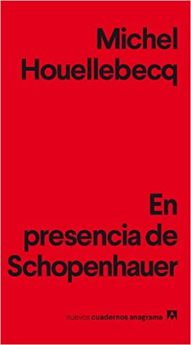 Resultado de imagen para Michel Houellebecq en un libro muy breve recién publicado, En presencia de Schopenhauer.