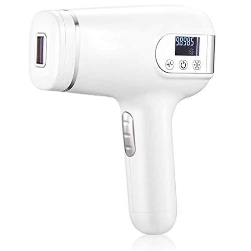 OPNIGHDYMD Pulsed Light Epilator, Laser-Haarentfernungsgerät, Rasiergerät zur Gel-Haarentfernung mit permanenter Ganzkörper-Haarentfernungsausrüstung 300.000