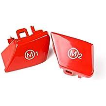 CADANIA Red Sports Volante M1 M2 Botón Modelo para BMW 3 Series E90 E92 E93 M3