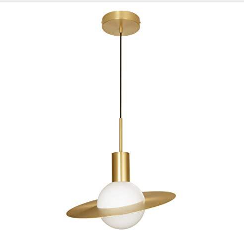 Lampe Wandleuchte Wandlampen Aussenlampe Nordic Kupfer Pendelleuchten Schlafzimmer Nacht Einfache Moderne Esszimmer Wohnzimmer Persönlichkeit Design Saturn Pendelleuchten -