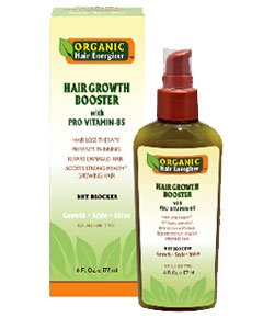 Organic Hair Energizer Hair Growth Booster with Pro Vitamin B5 177ml