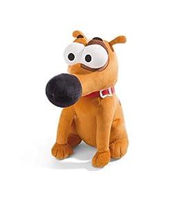 NICI 44234 Pat The Dog - Peluche Sentado (33 cm), Color marrón