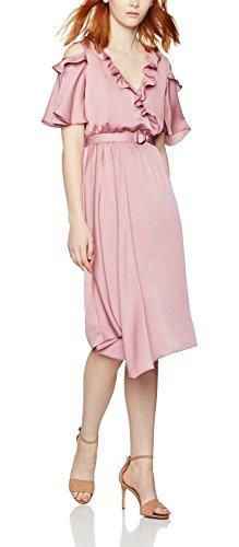 find-damen-kleid-cold-shoulder-wrap-rosa-old-rose-14-herstellergrosse-large