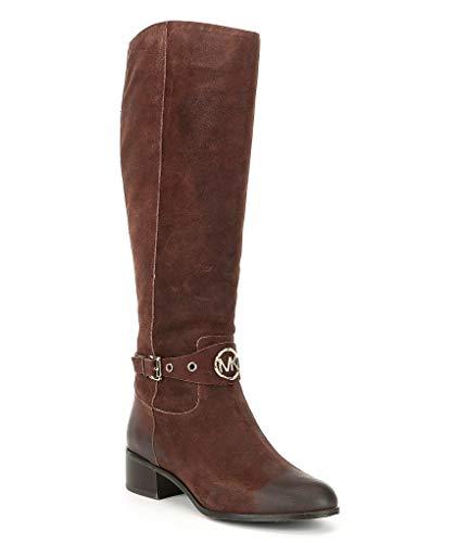 Michael Michael Kors Womens Heather Boot Knee-High Boots Brown 5.5 Medium (B,M) -