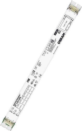 Ledvance QT 2x58/220-240 DIM A++ to A, Vorschaltgerät, Metall, 10 W, Integriert, grau, 35 x 35 x 25 cm